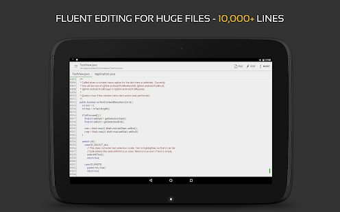 QuickEdit Text Editor Pro - Writer & Code Editor Screenshot
