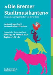 Plakat Bremer Stadtmusikanten