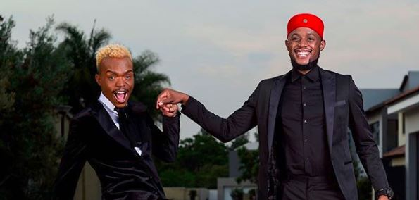 Somizi expressed his pride for Mohale who bagged his first acting role.