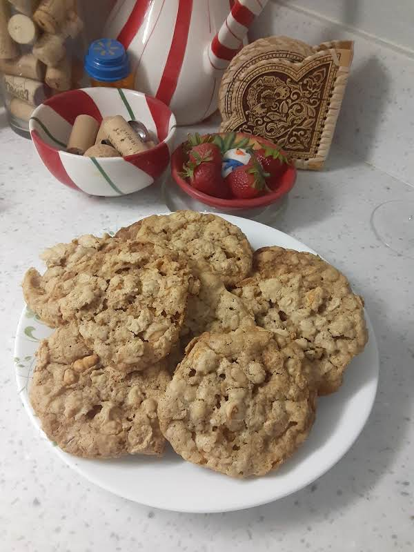 These Are Very Tasty And My Family Loves Them I Will Be Making  Them Again Soon. They Are Crisp And Chewy.