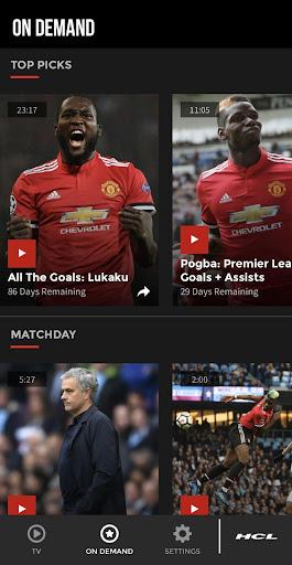 MUTV - Manchester United TV 2.4.0 screenshots 1