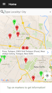 Recharge India - EV Charging points map- screenshot thumbnail