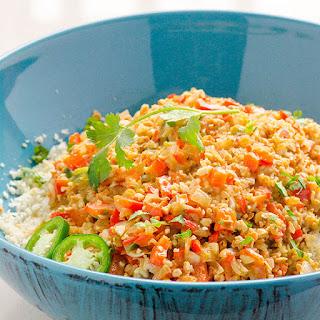 "Thai Cauliflower ""Rice"""
