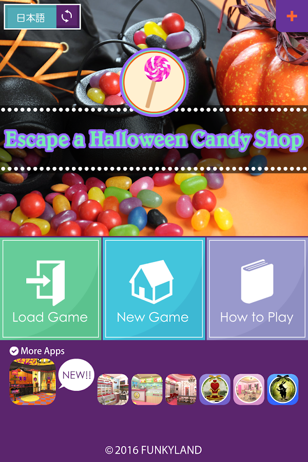 Escape a Halloween Candy Shop- screenshot