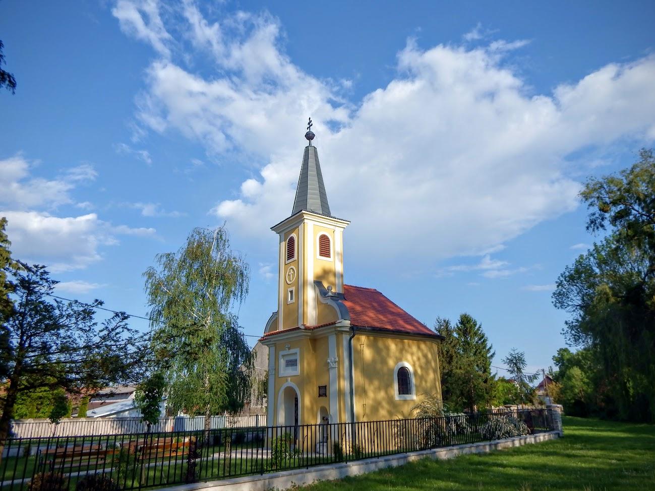 Csepreg - Szentkúti Kisasszony kápolna