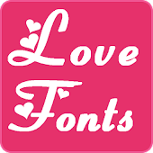 Love Fonts for FlipFont