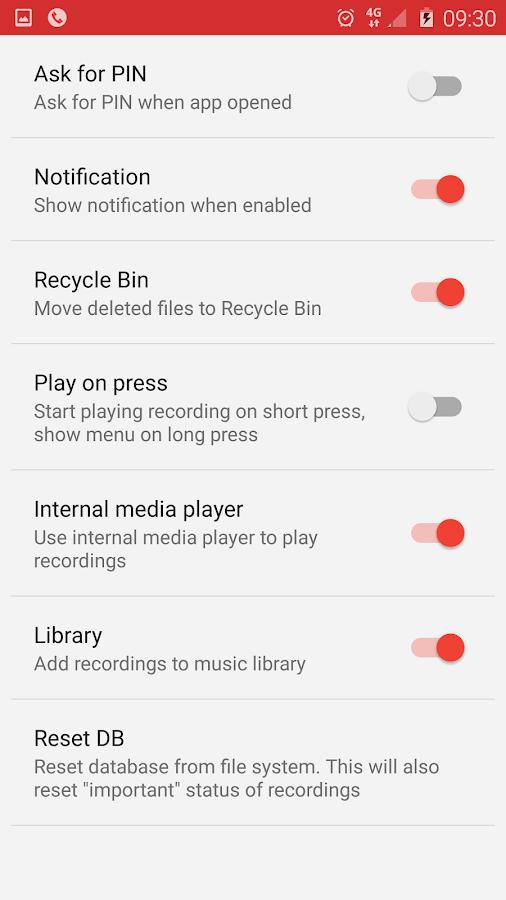 Call Recorder - ACR- screenshot