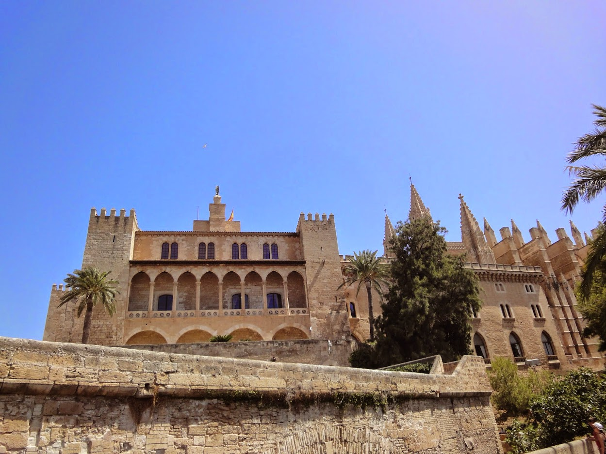 Palais royal de l'Almudaina à Palma de Majorque