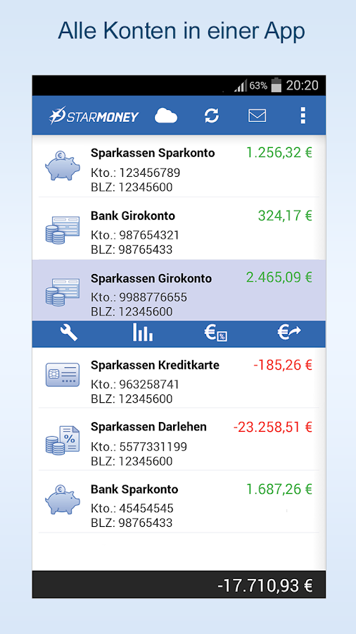 StarMoney Phone- screenshot