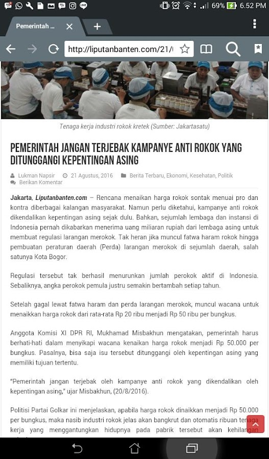 liputanbanten.co.id- screenshot