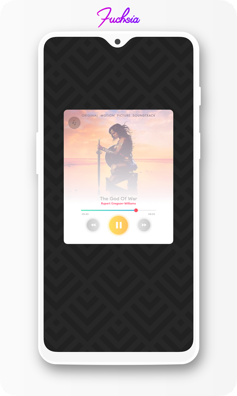 Fuchsia KWGT - Gradient Based Widgets Screenshot 10