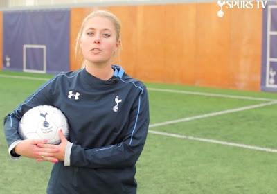 A Tottenham, ce sont les dames qui vous apprennent le football