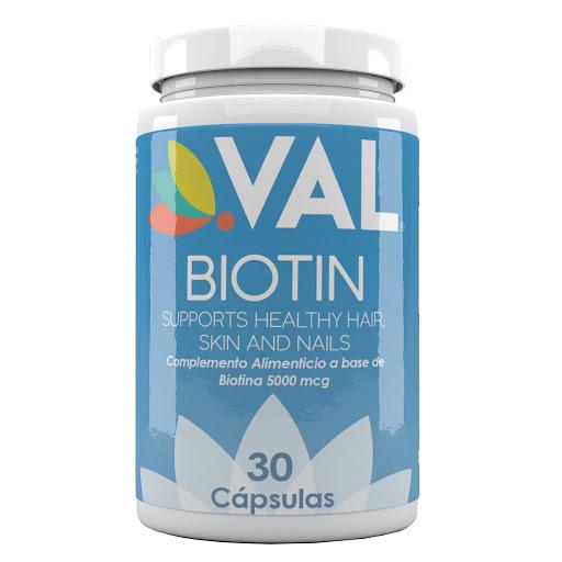 biotina val 5000 mcg 30 cápsulas