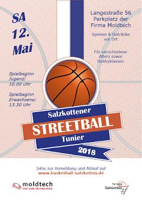 Streetballturnier am 12. Mai