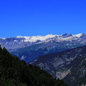 Glacier View by Meeta Thakur - Landscapes Mountains & Hills ( glacier, mountains, nature, switzerland, travel )