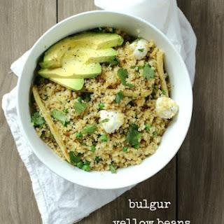 Bulgur and Mozzarella Salad