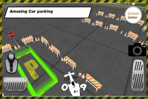 RCカーの駐車場