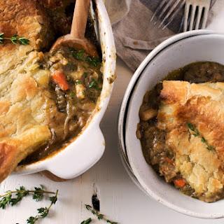 Root Vegetable Dinner Pie