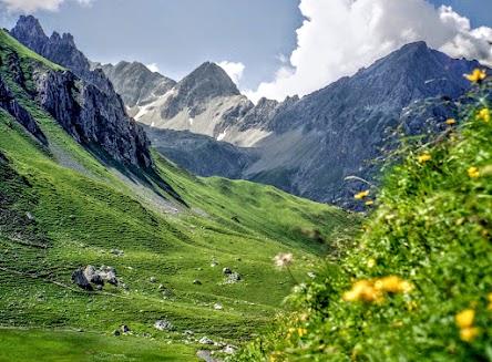 Verajöchle Rätikon Lünersee Vorarlberg