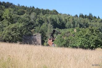 Photo: Ruiny ostatniego gospodarstwa w Ponikwie