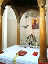 Photo: 233 La Valette, église grecque catholique ND Damas, choeur, autel