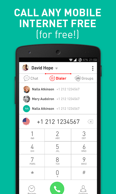 Meucci – Many Numbers. One App- screenshot