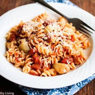 Roasted Garlic Tomato Pasta Sauce.