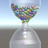 Realistic 3D HourGlass