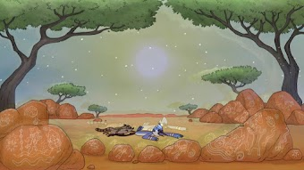 Mordecai and Rigby Down Under