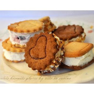 Ice Cream Biscuits.