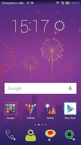 android Honor 4X Diwali Theme Screenshot 2