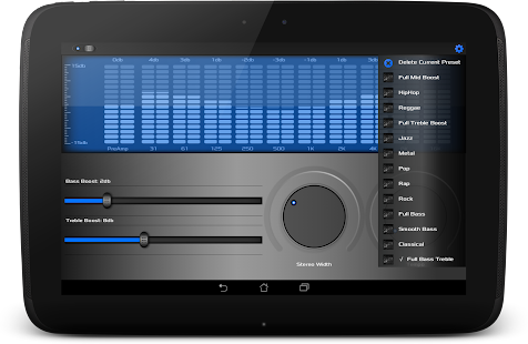 BoomCap Music Player + Flac EQ- screenshot thumbnail