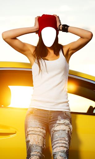 玩免費攝影APP|下載女性のファッションフォトモンタージュ app不用錢|硬是要APP