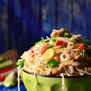 Thai Lemon Grass Chicken Noodles