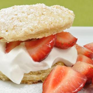 Lemon and Ginger Strawberry Shortcakes