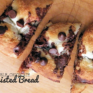 Double Chocolate Twisted Bread