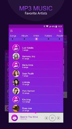 Music player, mp3 player 1.1.1 screenshots 3