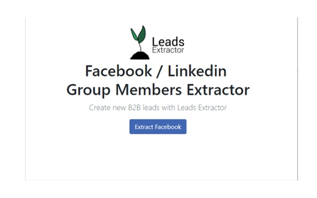 Leads Extractor - Social Media
