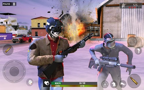 Winter survival Battle Royale Screenshot
