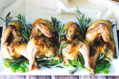 Roasted Cornish Hens