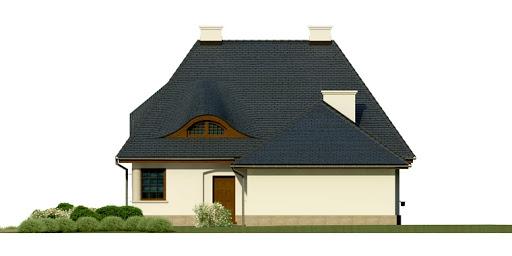 Dom przy Malowniczej 2 - Elewacja prawa