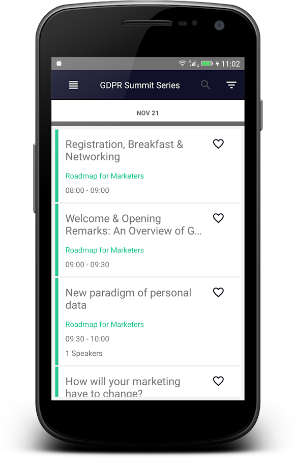 GDPR Summit Series- screenshot