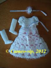 """Photo: №BJD2. 120 грн. Комплект""""Ангел"""" Fairy 26cm: платье  подъюбником+сапожки+украшение на руку или волосы"""