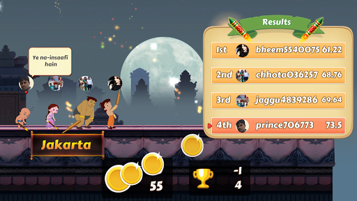 Chhota Bheem Race Game 2.2 screenshots 8