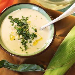 Pressure Cooker Corn Soup.