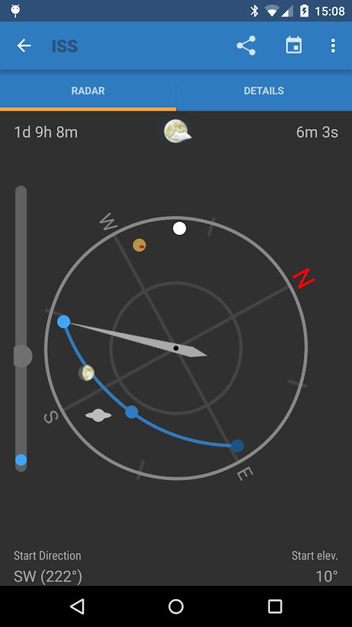 ISS Detector Pro- screenshot