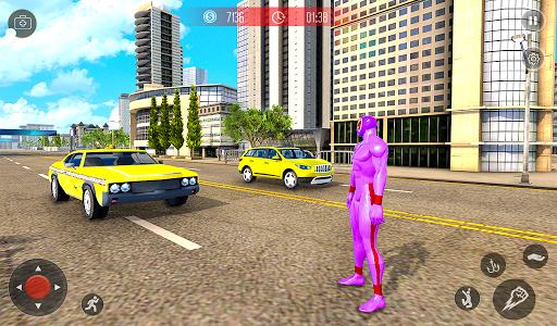 Amazing Spider Crime Hero: Gangster Rope Hero Game 3 screenshots 8