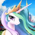 Pony Unicorn Horse Games For Girls - Makeup Salon icon