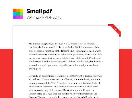 Smallpdf - Edit, Compress and Convert PDF