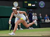 Johanna Konta kreeg last van hartkloppingen in de eerste ronde op het toernooi van Lexington